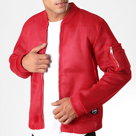 Classic Series - Bomber 19427 Rouge