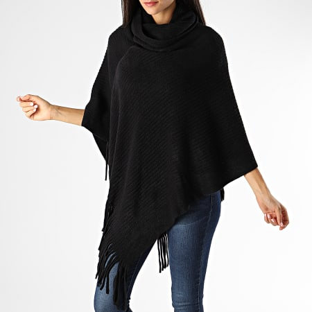 Deeluxe - Poncho A Franges Anis Noir