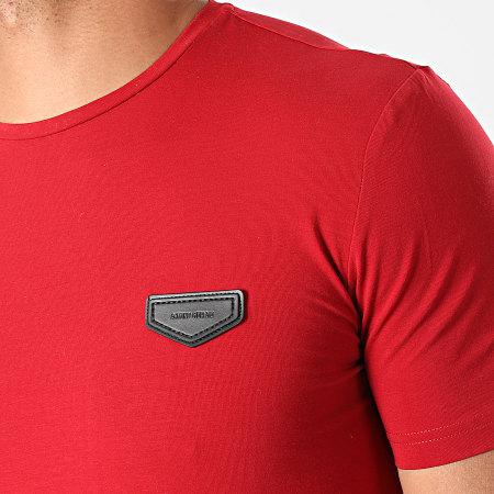 Antony Morato - Tee Shirt Logo Basic MMKS01430 Rouge