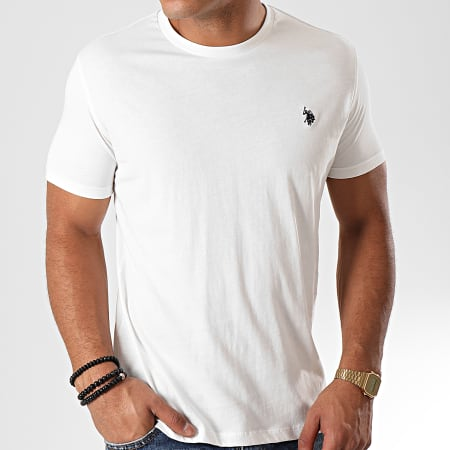 US Polo ASSN - Tee Shirt Basic Uspa Blanc
