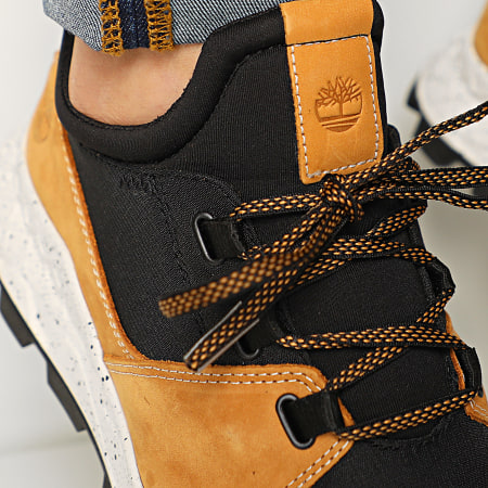 Timberland - Baskets Brooklyn Leather Fabric A26HE Black Ristop