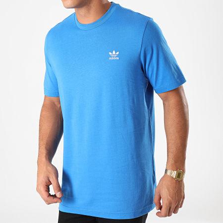 adidas - Tee Shirt Essential Trefoil FN2838 Bleu Roi