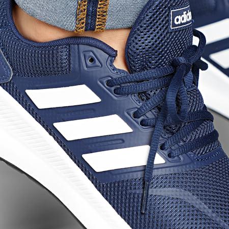 adidas Baskets RunFalcon F36201 Dark Blue Footwear White