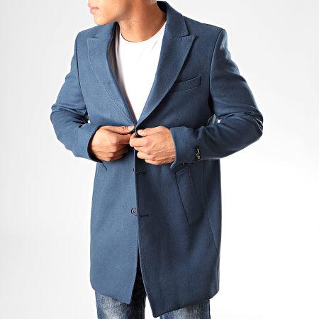 Mackten - Manteau M303 Bleu