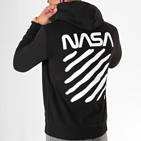 NASA - Sweat Capuche Skid Noir