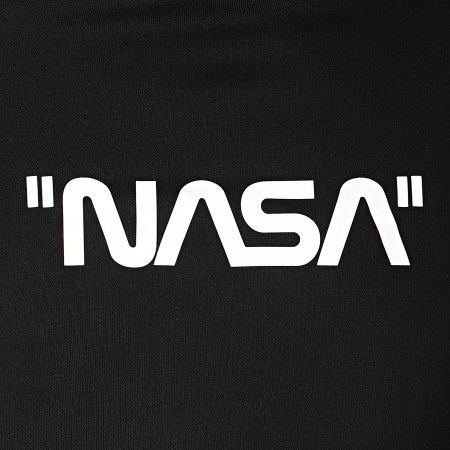 NASA - Sweat Capuche Quote Noir