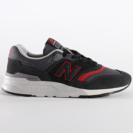 New Balance - Baskets Classics 772481 Grey Black Red