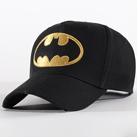 Batman - Casquette Logo Noir Doré