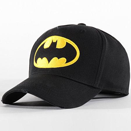 Batman - Casquette Logo Noir Jaune