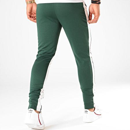 Frilivin - Pantalon Jogging A Bandes 1565 Vert