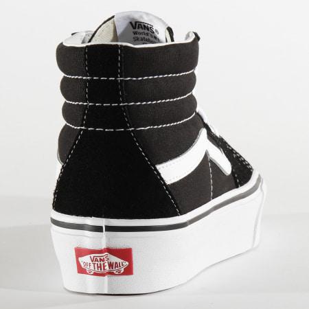 Vans - Baskets Femme Sk8 Hi Platform 2 A3TKN6BT Black True White