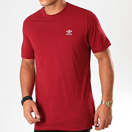 adidas Tee Shirt Essential FQ3341 Bordeaux