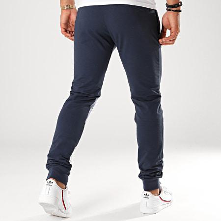 Le Coq Sportif - Pantalon Jogging Slim A Bandes Tricolore Saison N°1 1920490 Bleu Marine