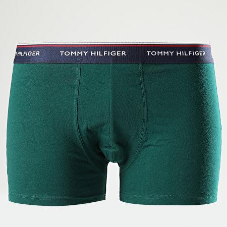 Tommy Hilfiger Denim - Lot De 3 Boxers Premium Essentials 1U8703842 Noir Bordeaux Vert