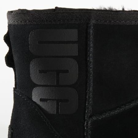 UGG - Bottines Femme Classic Mini UGG Rubber Logo 1108231 Black