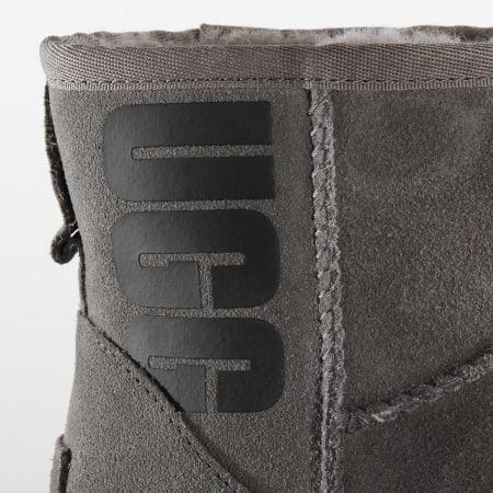 UGG - Bottines Femme Classic Mini UGG Rubber Logo 1108231 Grey
