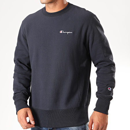 Champion - Sweat Crewneck 213603 Bleu Marine