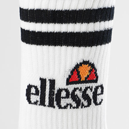 Ellesse - Lot De 3 Paires De Chaussettes SAAC0620 Blanc