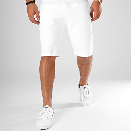 Champion - Short Jogging 212584 Blanc