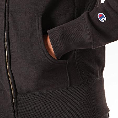 Champion - Sweat Zippé Capuche 213604 Noir