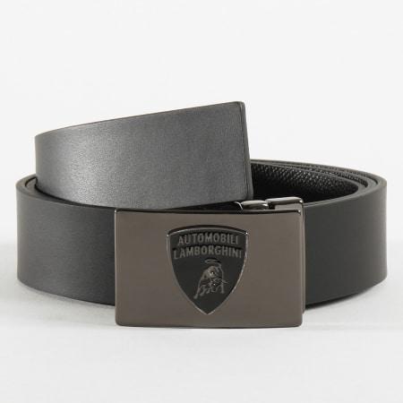 Lamborghini - Ceinture Réversible D8XUBF05 Noir