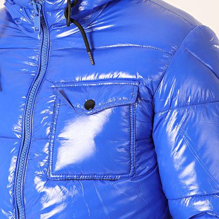 MTX - Doudoune Capuche 973 Bleu Roi