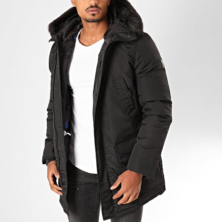 Redskins - Parka Fourrure Iceberg Mountain Noir