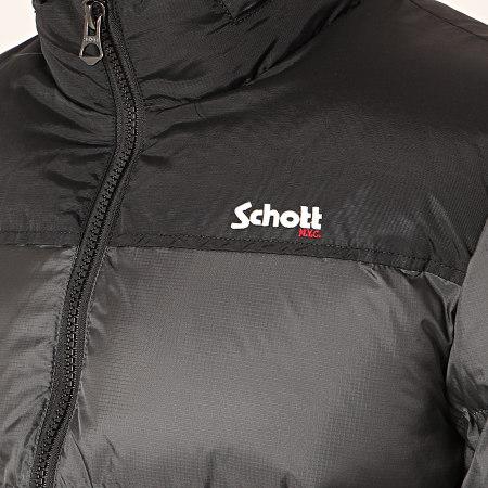 Schott NYC - Doudoune Utah Noir