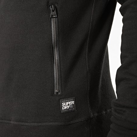 Superdry - Sweat Capuche Universal Tape M2000060A Noir