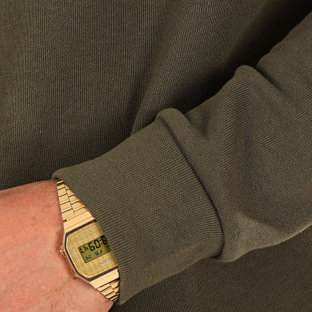 adidas - Sweat Crewneck Essential FQ3345 Vert Kaki