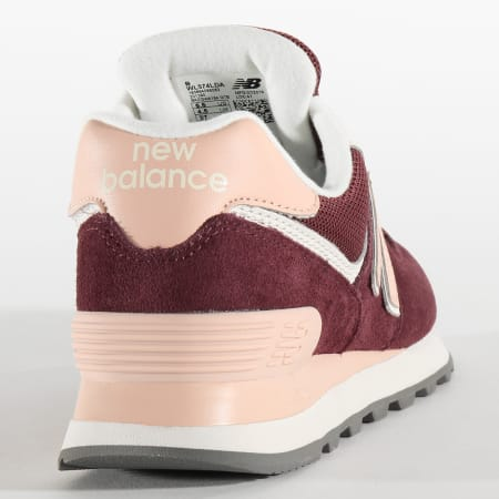 new balance femmes 574 bordeau