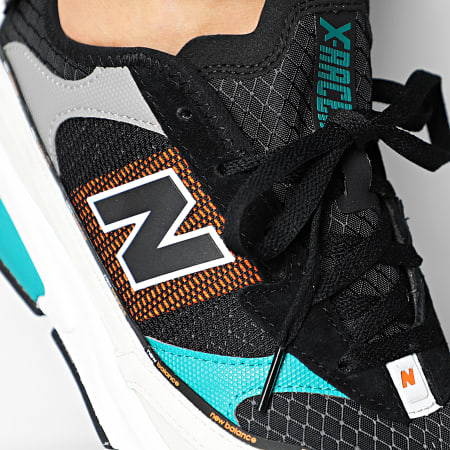 New Balance - Baskets Lifestyle X-Racer 767381 White Green Black