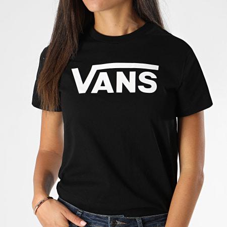 tee shirt vans fille noir