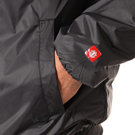 Element - Coupe-Vent Primo Alder Insulato Noir