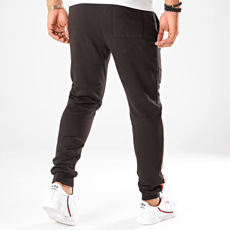 Only And Sons - Pantalon Jogging NASA Noir Blanc Rouge