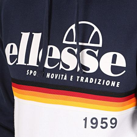 Ellesse - Sweat Capuche Rubianello SHD08096 Bleu Marine