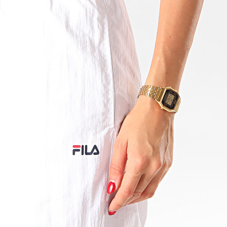 Fila Pantalon Jogging Femme Alma 687083 Blanc