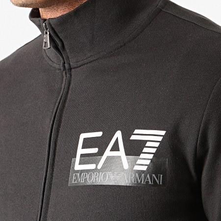 EA7 - Ensemble De Survetement 6GPV53-PJ05Z Noir Argenté