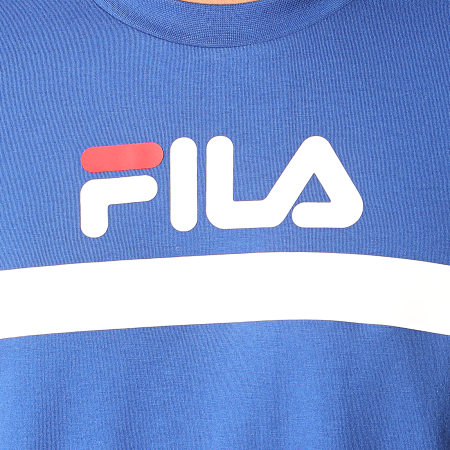 Fila - Tee Shirt Anatoli 687231 Bleu Indigo Blanc
