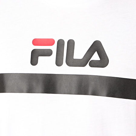 Fila - Tee Shirt Anatoli 687231 Blanc Noir