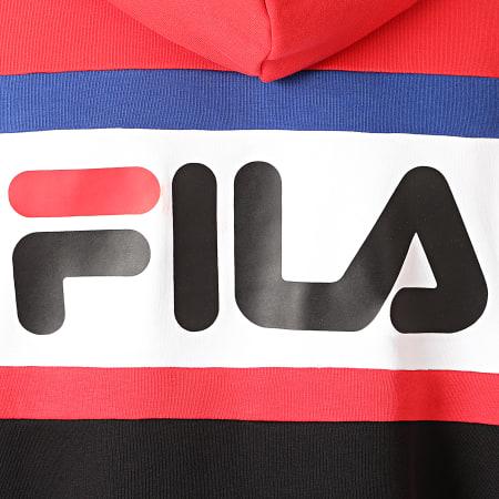 Fila Sweat Capuche Radomir 687232 Rouge Blanc Noir
