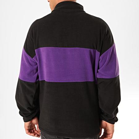 Fila - Sweat Col Zippé Reijo 687247 Noir Violet