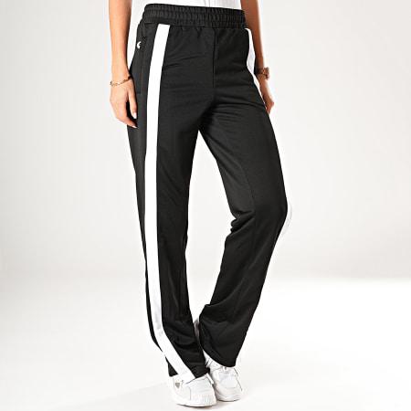 Fila Pantalon Jogging Femme A Bandes Sachika 687258 Noir