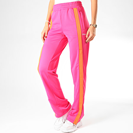 Fila Pantalon Jogging Femme A Bandes Sachika 687258 Rose