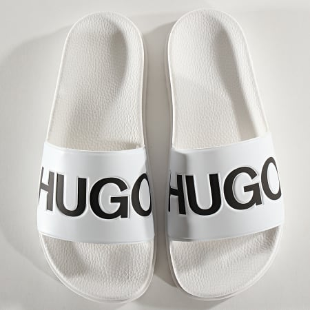 HUGO by Hugo Boss - Claquettes Match 50421188 White