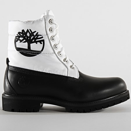 Timberland Boots 6 Inch Quilt Premium A2BY4 Black Nubuck