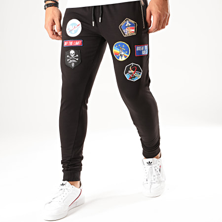 Uniplay - Pantalon Jogging PNS-7 Noir