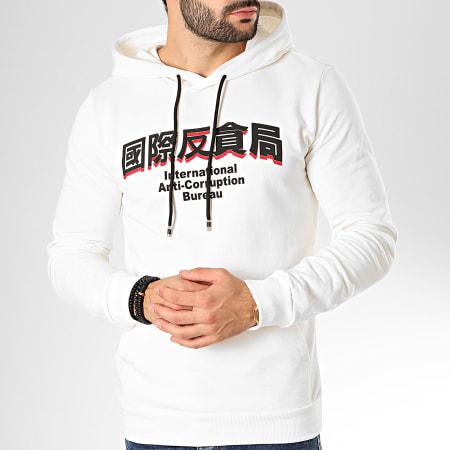 Aarhon - Sweat Capuche 92105 Blanc Cassé