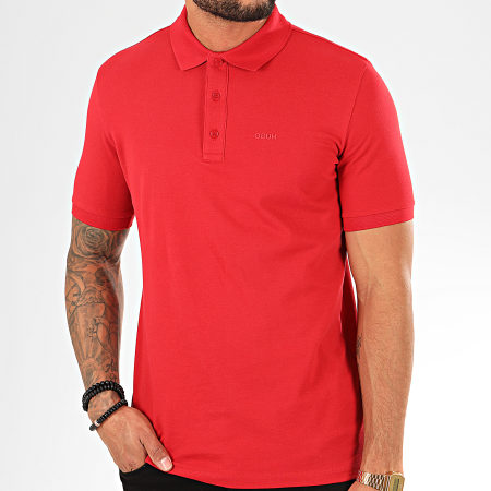 HUGO by Hugo Boss - Polo Manches Courtes Donos 201 50422156 Rouge