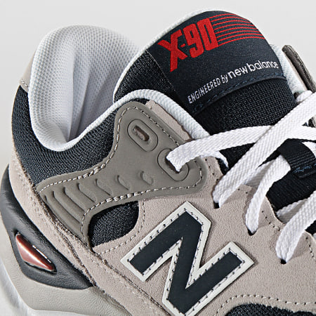 New Balance - Baskets Lifestyle X90 767371 Grey Navy